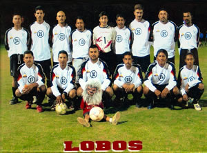 Club Lobos, supported by Desert Sky in the Torneo Clapsura league